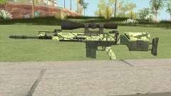 CS-GO SCAR-20 (Jungler Skin) для GTA San Andreas