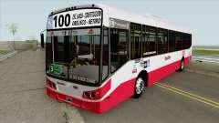 Linea 100 Todobus Pompeya II Agrale MT17 Interno для GTA San Andreas