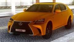 Lexus GS350 2018 Golden для GTA San Andreas