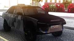 LADA 2170 Street Camo для GTA San Andreas