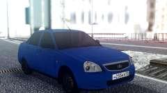 ВАЗ 2170 Синий Седан для GTA San Andreas