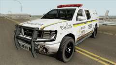 Nissan Frontier Brazilian Police (Dirty) для GTA San Andreas