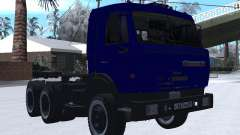 КамАЗ 54115 ЗИМА для GTA San Andreas