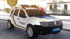 Renault Duster Полиция Украины