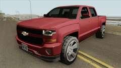 Chevrolet Silverado 2017 (SA Style) для GTA San Andreas