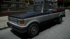 Vapid Sadler Retro Pick-Up Truck v1.2 для GTA 4