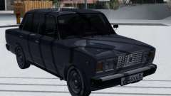 ВАЗ 2107 Зимняя версия для GTA San Andreas