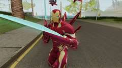 Iron Man Mark S Skin для GTA San Andreas