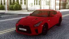 Nissan GT-R R35 Red для GTA San Andreas