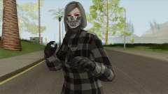 Female Random Skin From GTA V Online для GTA San Andreas