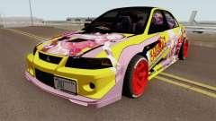 Mitsubishi Lancer Evolution VI GSR 1999 HQ для GTA San Andreas