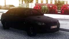 BMW M5 E60 Black Sedan для GTA San Andreas