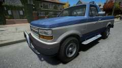 Vapid Sadler Sport Retro Single Cab для GTA 4