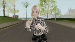 Helena Casual Black Skirt для GTA San Andreas