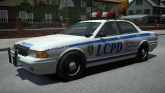 Vapid Police Cruiser v1.2 для GTA 4
