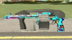 Shotgun (Cartoon Skin) для GTA San Andreas