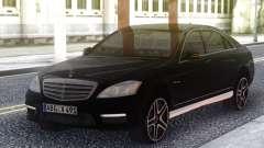 Mercedes-Benz S65 AMG 2012 Black для GTA San Andreas