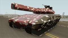 Khanjali With Digital Camouflage Livery V2 для GTA San Andreas