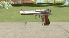 Desert Eagle Chrome GTA IV для GTA San Andreas