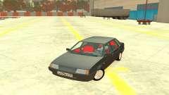 ВАЗ 21099 Красный салон для GTA 4