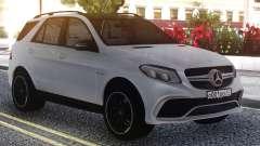 Mercedes-Benz GLE 63s FIX Gray для GTA San Andreas