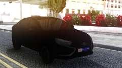 Lada Vesta All Black для GTA San Andreas