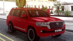 Toyota Land Cruiser 200 B7 для GTA San Andreas