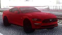Ford Mustang GT 2019 для GTA San Andreas