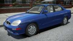 Daewoo Nubira II Sedan 2000 для GTA 4