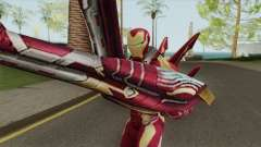 Iron Man Mark W Skin для GTA San Andreas