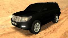 Toyota Land Cruiser 200 Stock для GTA San Andreas