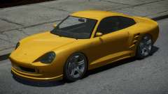 Pfister Comet Yellow для GTA 4