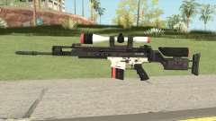 CS-GO SCAR-20 (Cyrex Skin) для GTA San Andreas