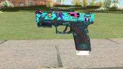 Desert Eagle (Cartoon Skin) для GTA San Andreas