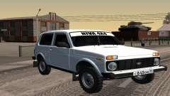ВАЗ 2121 Белая Нива для GTA San Andreas