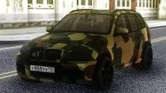 BMW X5M Димы Гордея (Камуфляж) для GTA San Andreas