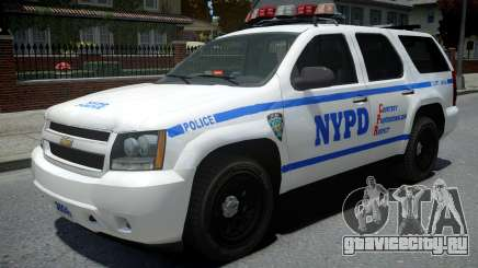 Chevrolet Tahoe NYPD Police 2015 для GTA 4