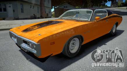 Dodge Charger Super Bee 1971 для GTA 4
