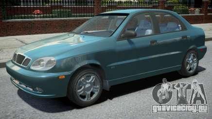 Daewoo Lanos Sedan 1999 для GTA 4