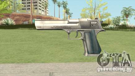 Desert Eagle Default GTA IV для GTA San Andreas