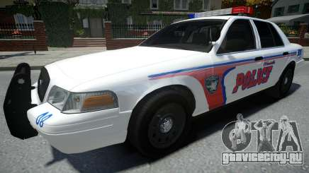 Ford Crown Victoria Woodville Police 2011 для GTA 4