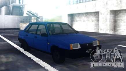 ВАЗ 21099 Синий Седан для GTA San Andreas