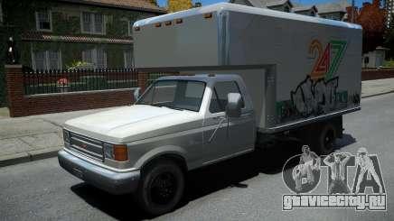 Vapid Sadler Retro Box Truck для GTA 4