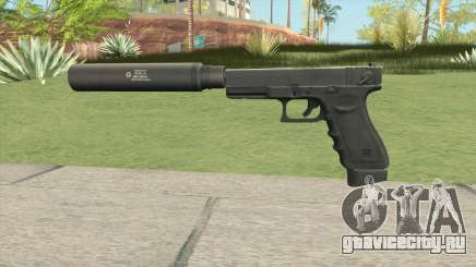 Contract Wars Glock 18 Suppressed для GTA San Andreas