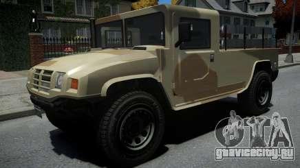 Mammoth Patriot Millitary для GTA 4