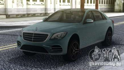 Mercedes-Benz S650 W222 для GTA San Andreas