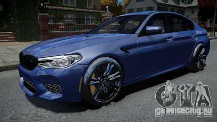 BMW M5 F90 2018 для GTA 4