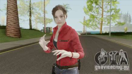Claire Redfield From RE 2 Remake для GTA San Andreas