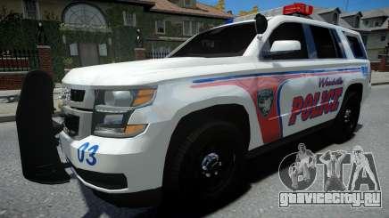 Chevrolet Tahoe Woodville Police 2015 для GTA 4