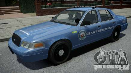Ford Crown Victoria US NAVY Military Police для GTA 4